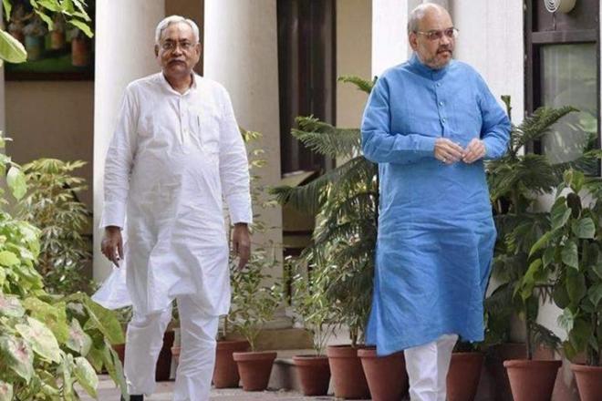दिल्ली में नीतीश, सीटों के बंटवारे के लिए शाह से मुलाकात, LJP-RLSP की धड़कनें तेज