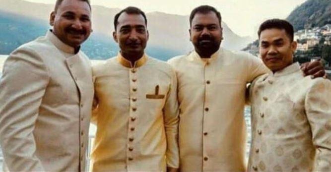 दीपिका-रणवीर की शादी में नहीं दिखे बड़े स्टार, शामिल हुए दोनों के बॉडीगार्ड-ड्राइवर, देखें तस्वीर